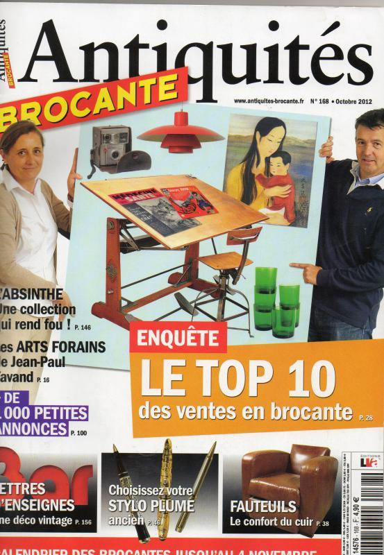 Magazine Antiquités Brocante octobre 2012