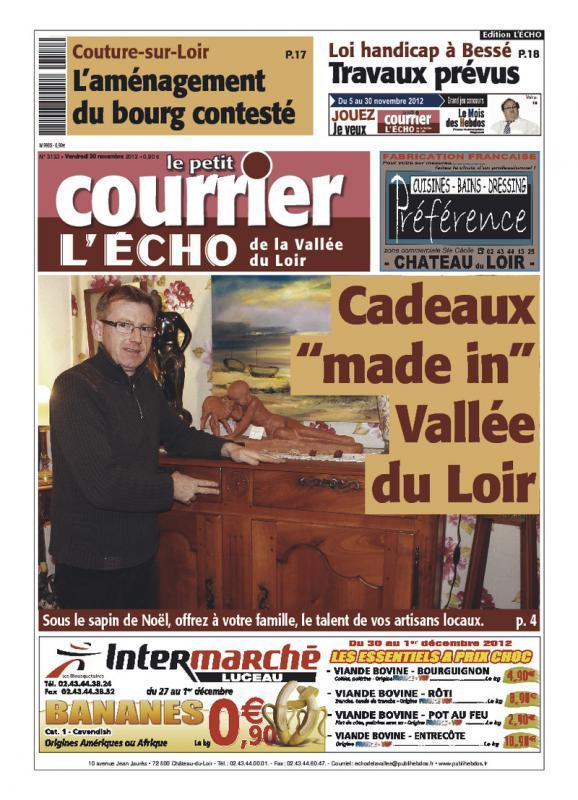 "Journal ""Le petit courrier"""