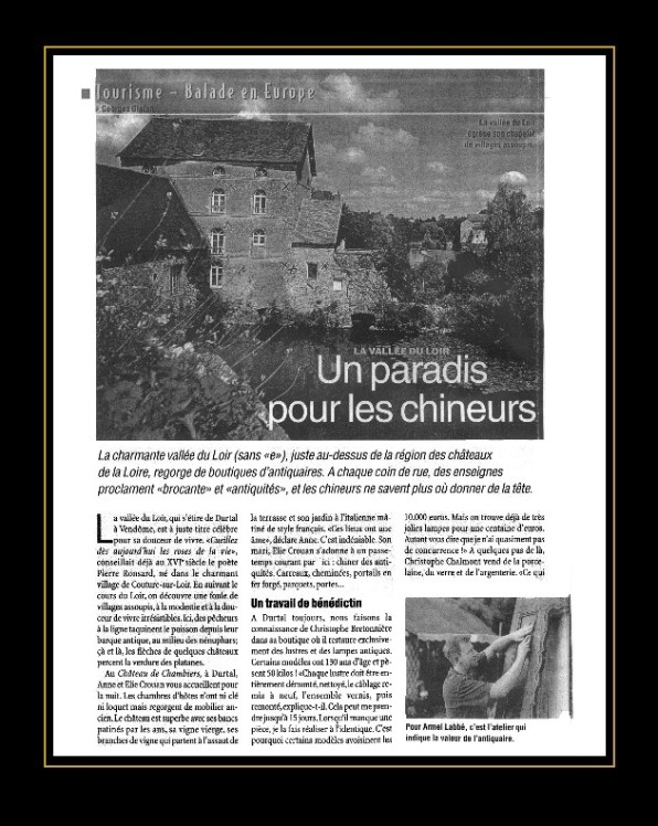 Magazine Belgique