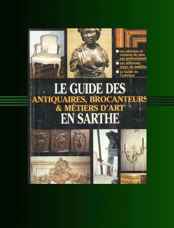 Guide des antiquaires de la Sarthe