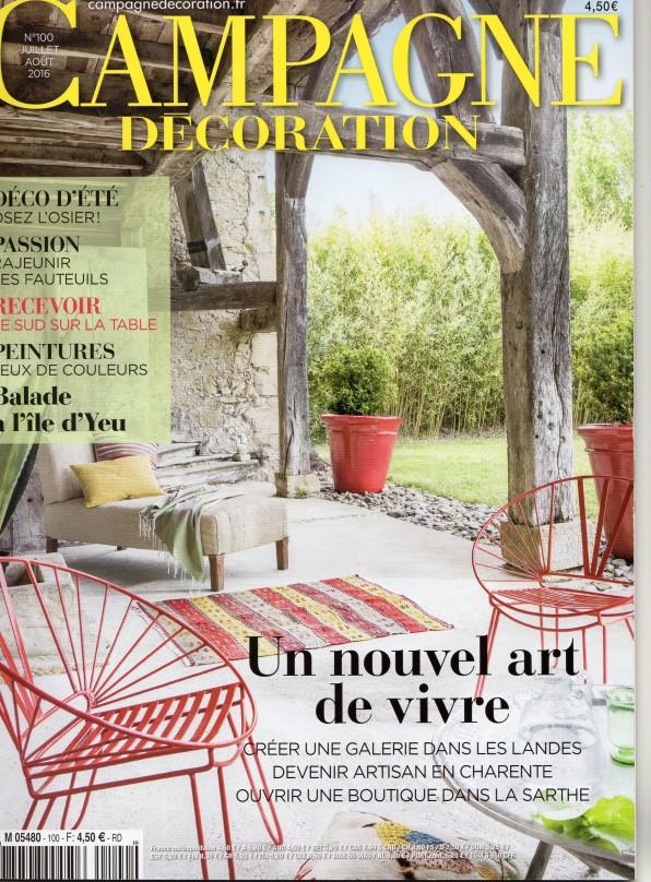 Magazine Campagne décoration