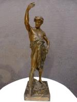 Bronze signé Émile Louis Picault (1833-1915).